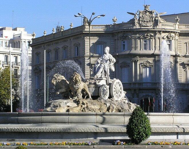 Фонтан Сибелес. Мадрид