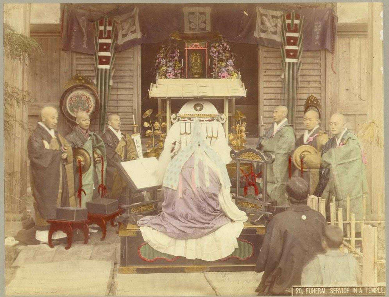 Похоронная служба в храме