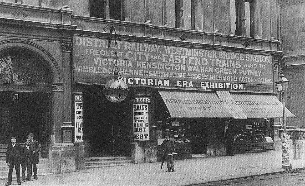 1902. Станция «Вестминстер»