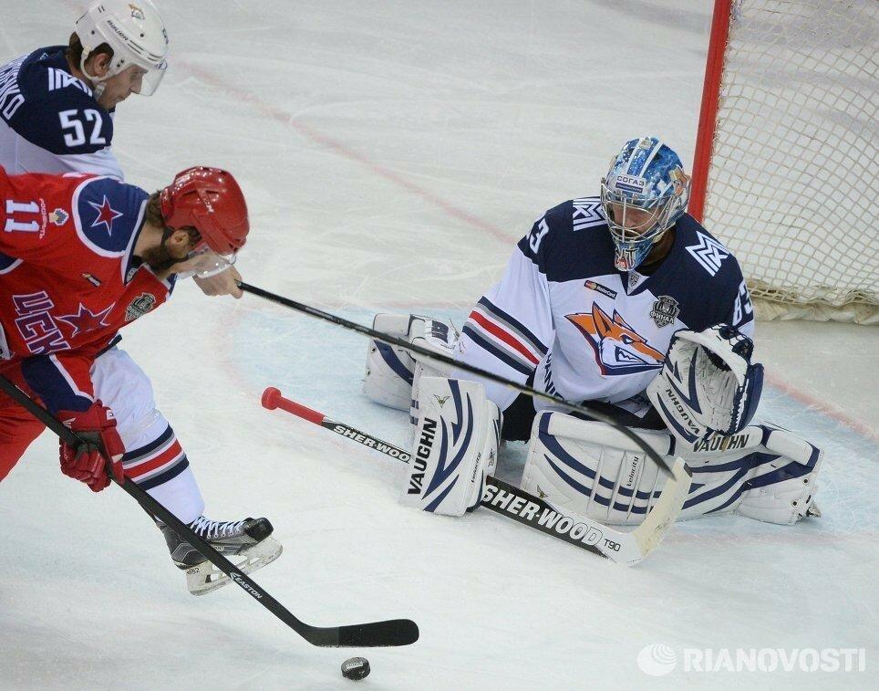 11Плей-офф 2016 Финал ЦСКА - Металлург 19.04.2016