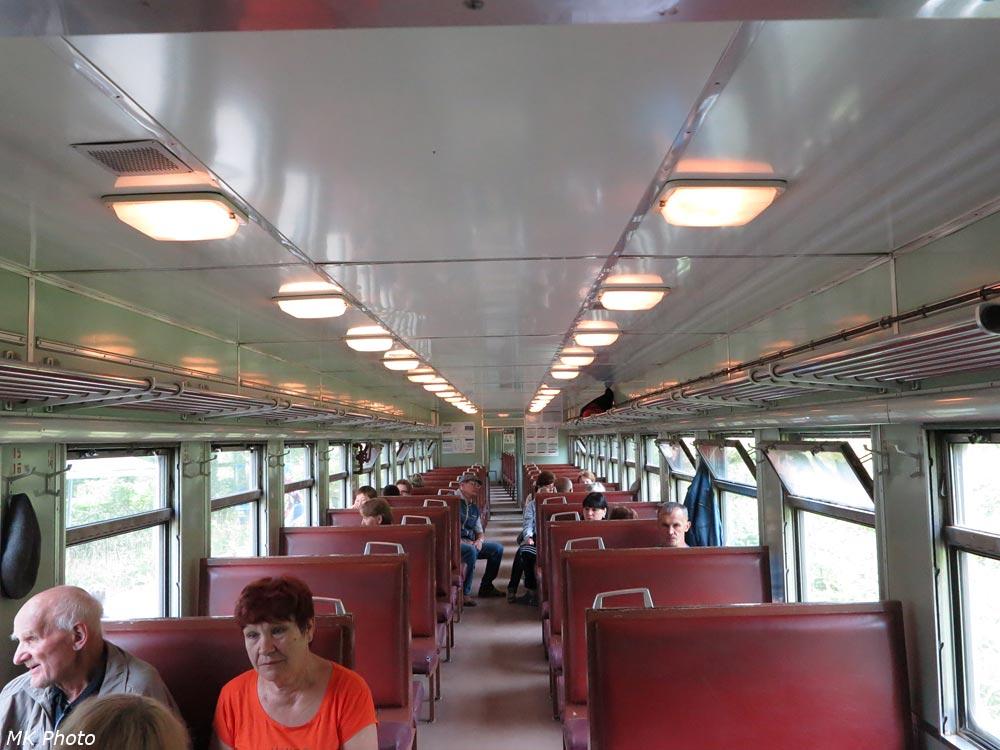 Второй вагон дизель-поезда