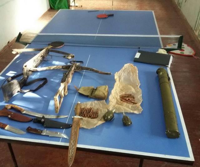 """На Херсонщине СБУ изъяла боеприпасы, вывезенные """"волонтером"""" из района проведения АТО. ФОТО"""