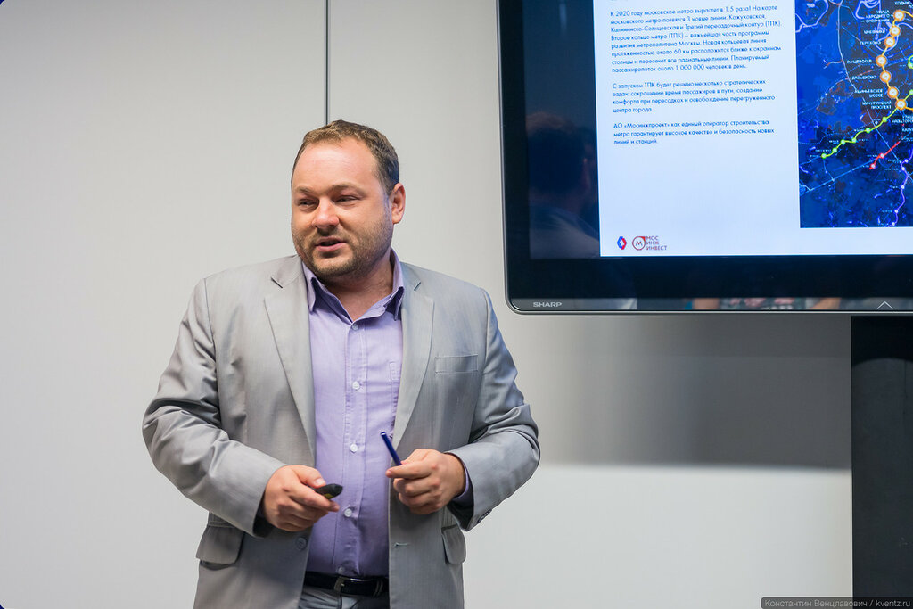 Руководитель проекта ТПУ «Селигерская» Олег Добров, АО «Мосинжпроект»