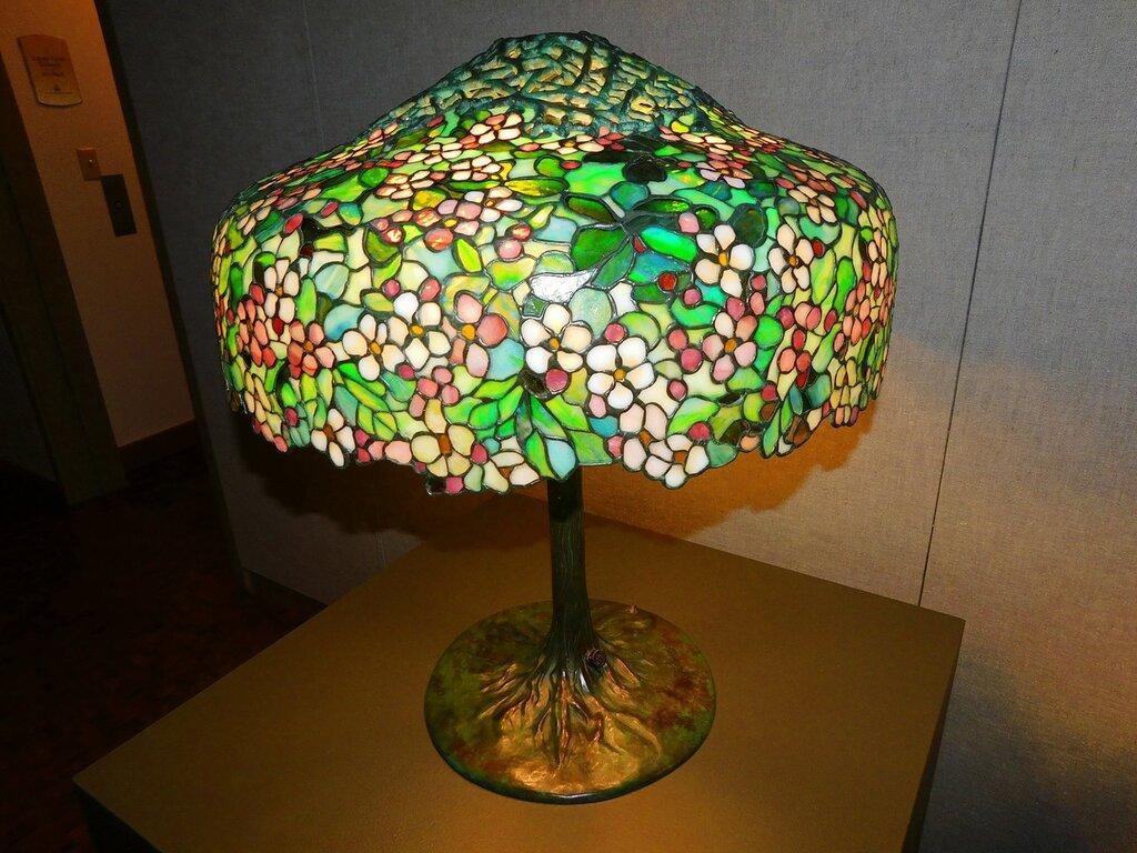 Tiffany Glass.