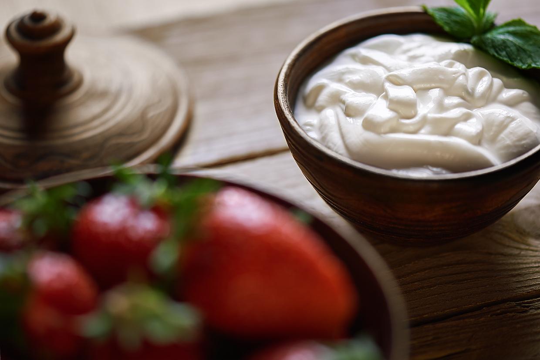cream strawberry | клубника со сливками