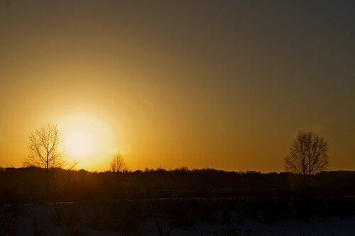 вечернее солнышко