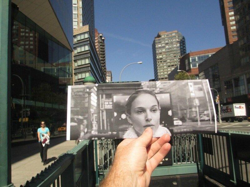 FILMography: Кадры из фильмов в реальной жизни