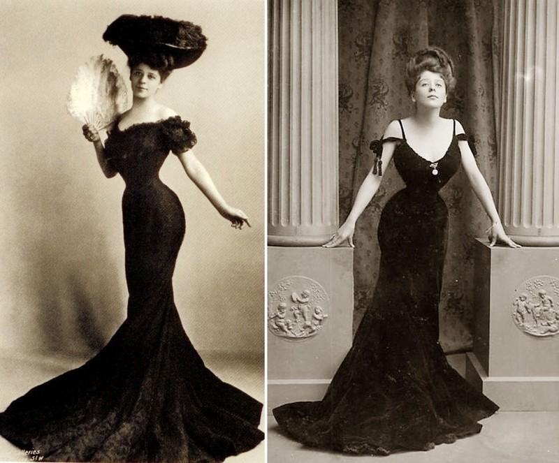 2. Идеал женской красоты, созданный американским иллюстратором Чарльзом Гибсоном на рубеже XIX и XX