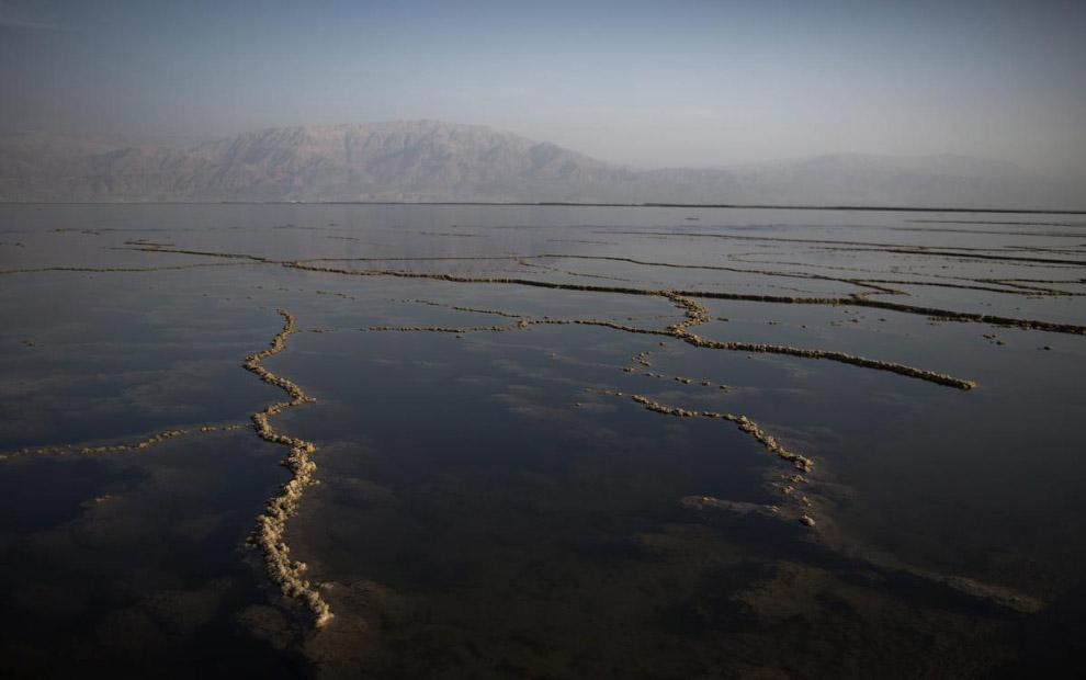 Кроме уникального состава солей, Мёртвое море известно и своими целебными грязями, которые добы
