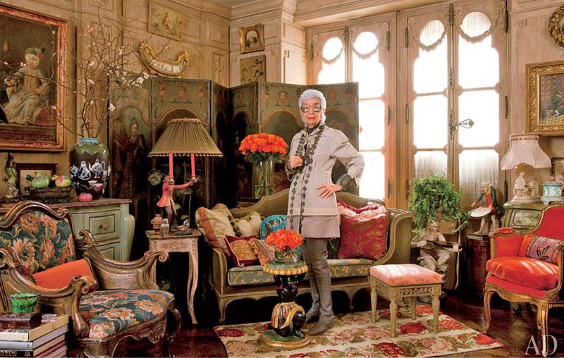 17. Дом Айрис Апфель в Нью-Йорке.