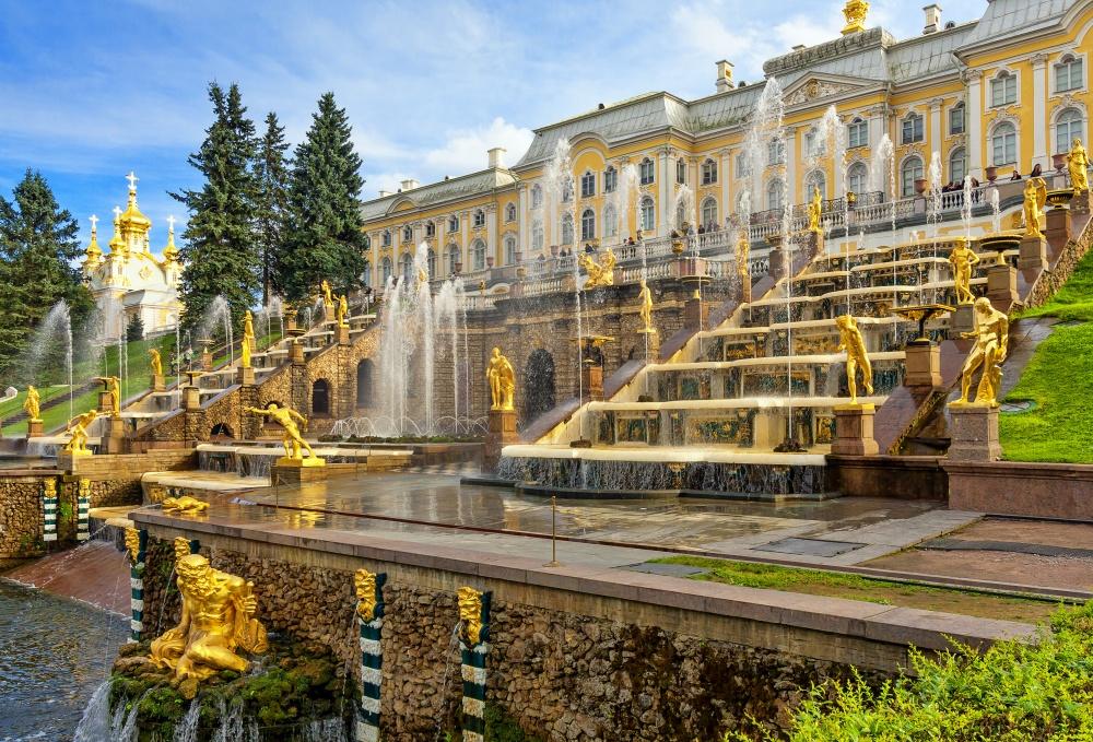 Дворец вПетергофе.