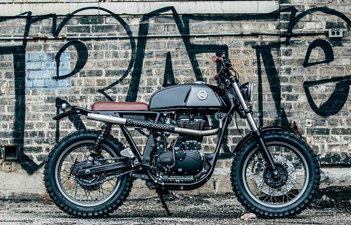 Royal Enfield & Analog Motorcycles. Кастом-байки, если их делают правильно, в итоге становятся преде