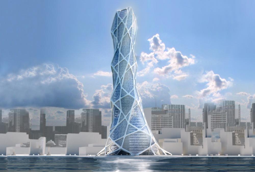 Конструкция этого небоскреба разработана нетолько архитекторами, ноибиологами: всотрудничестве о