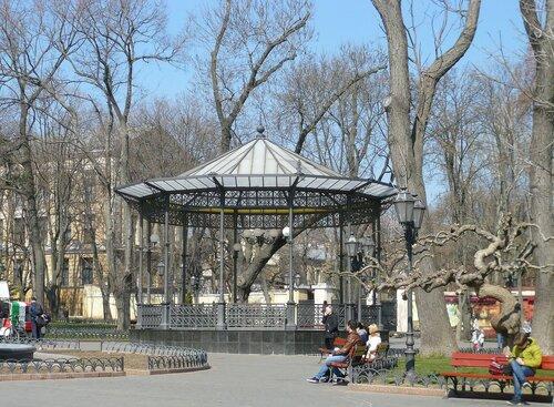 Одесса. Беседка в Городском саду