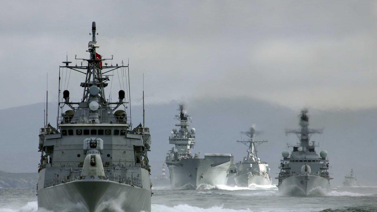 Отряд кораблей исудов Северного флота провёл учение врайоне платформы «Приразломная»