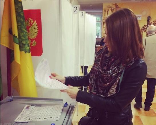 ВЛипецкой области к18:00 проголосовало наименее половины избирателей