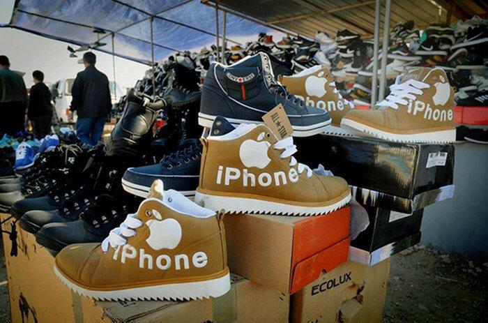 Китайские подделки под мировые бренды