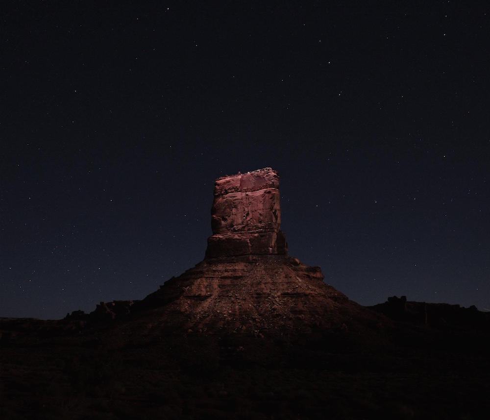 Drones Rigged with LED Lights Dramatically Illuminate Landscapes at Night