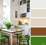 Сочетания цветов в интерьере кухни