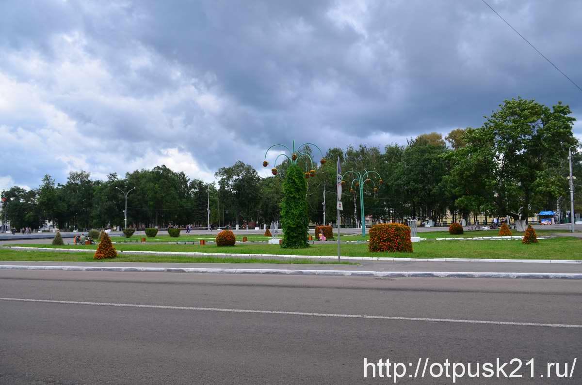 Площадь Революции в Вологде