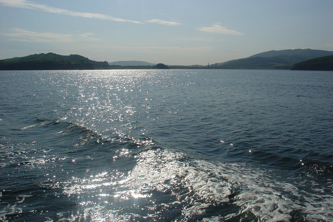 Vladivostok. Water area.  符拉迪沃斯托克。水域面积。