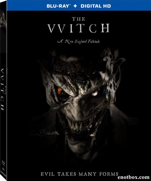Ведьма / The VVitch: A New-England Folktale (2015/BDRip/HDRip)