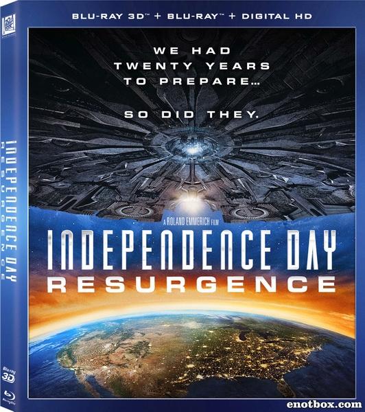 День независимости: Возрождение / Independence Day: Resurgence (2016/BDRip/HDRip/3D)