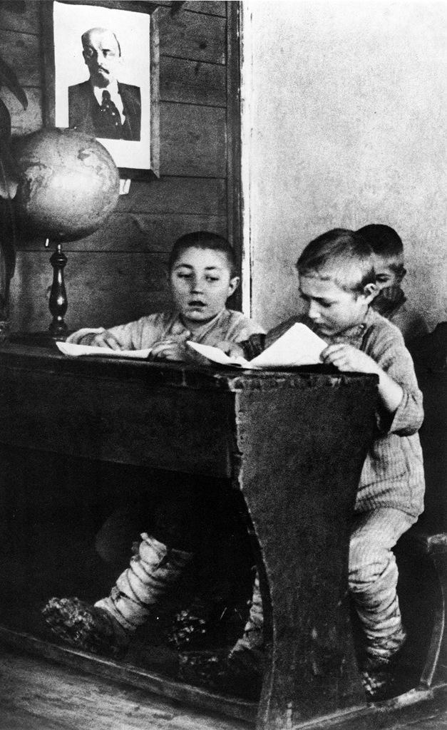 В сельской школе. 1928 год.jpg