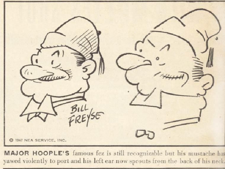 Des illustrateurs des annees 40 tentent de dessiner leurs personnages les yeux bandes