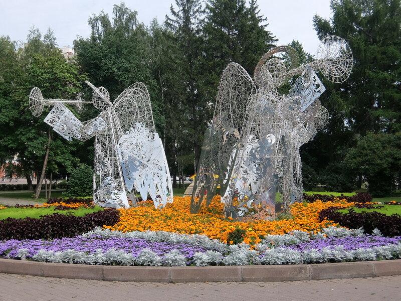 Кемерово - Декоративная композиция Ангелы
