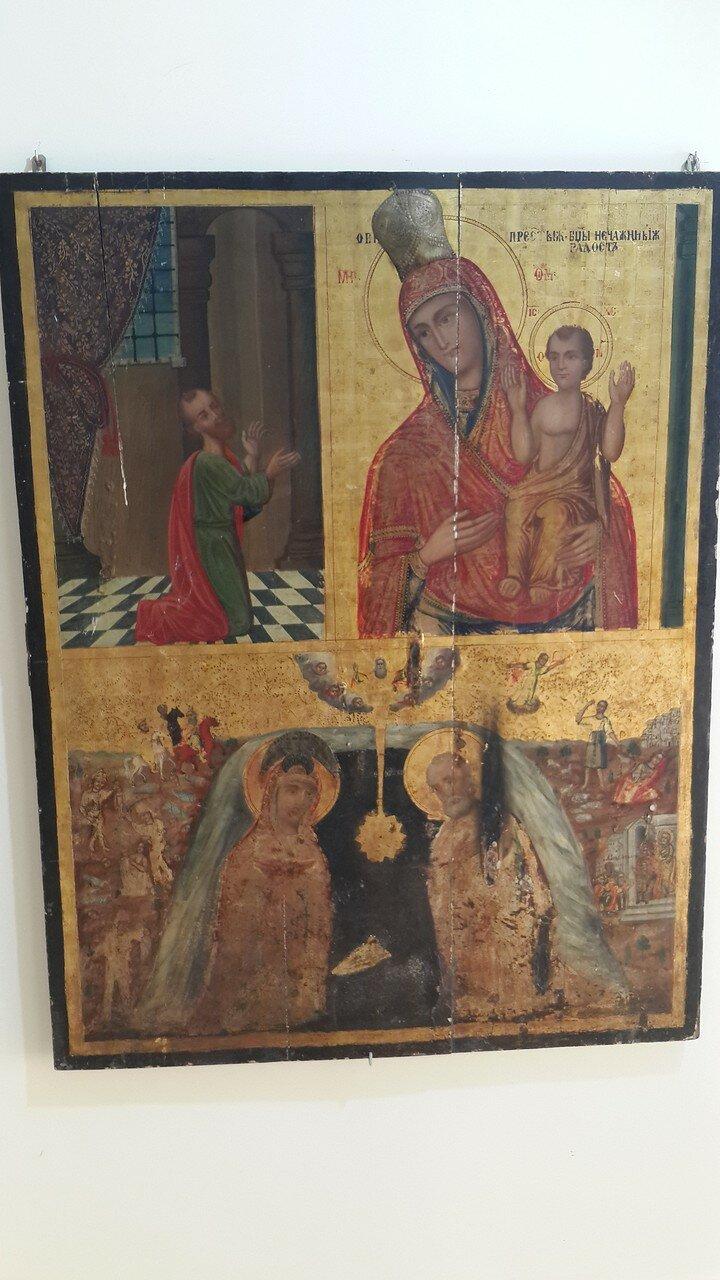 Икона из небольшого музея при церкви