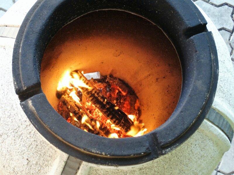Готовим мясо в тандыре