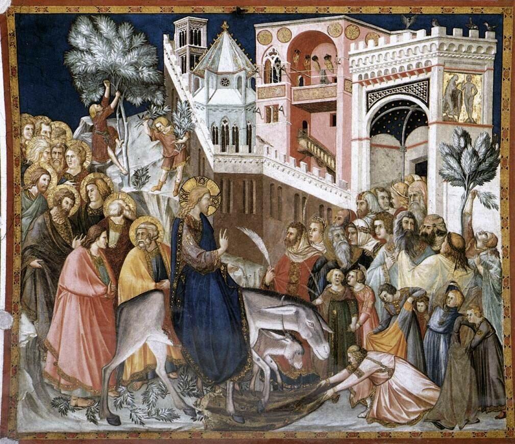 Pietro_Lorenzetti_-_Entry_of_Christ_into_Jerusalem_-_WGA13502 ок. 1320.jpg