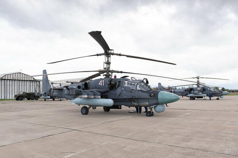 Камов Ка-52 (RF-91333 / 41 белый) ВКС России D700548