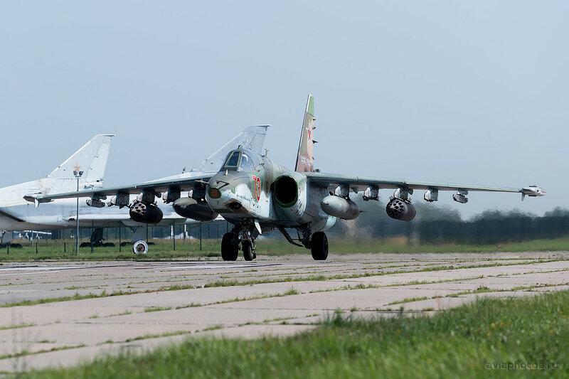 Сухой Су-25БМ (73 красный) ВКС России 0090_D805491