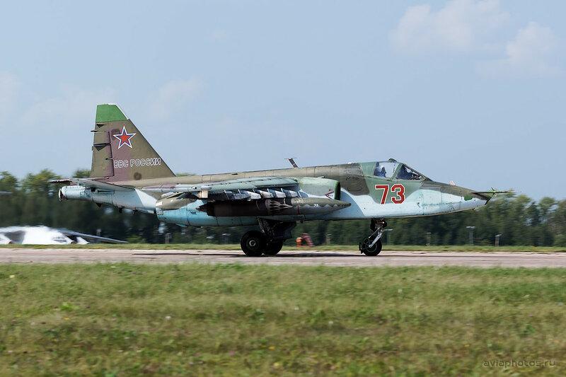 Сухой Су-25БМ (73 красный) ВКС России 0400_D805757