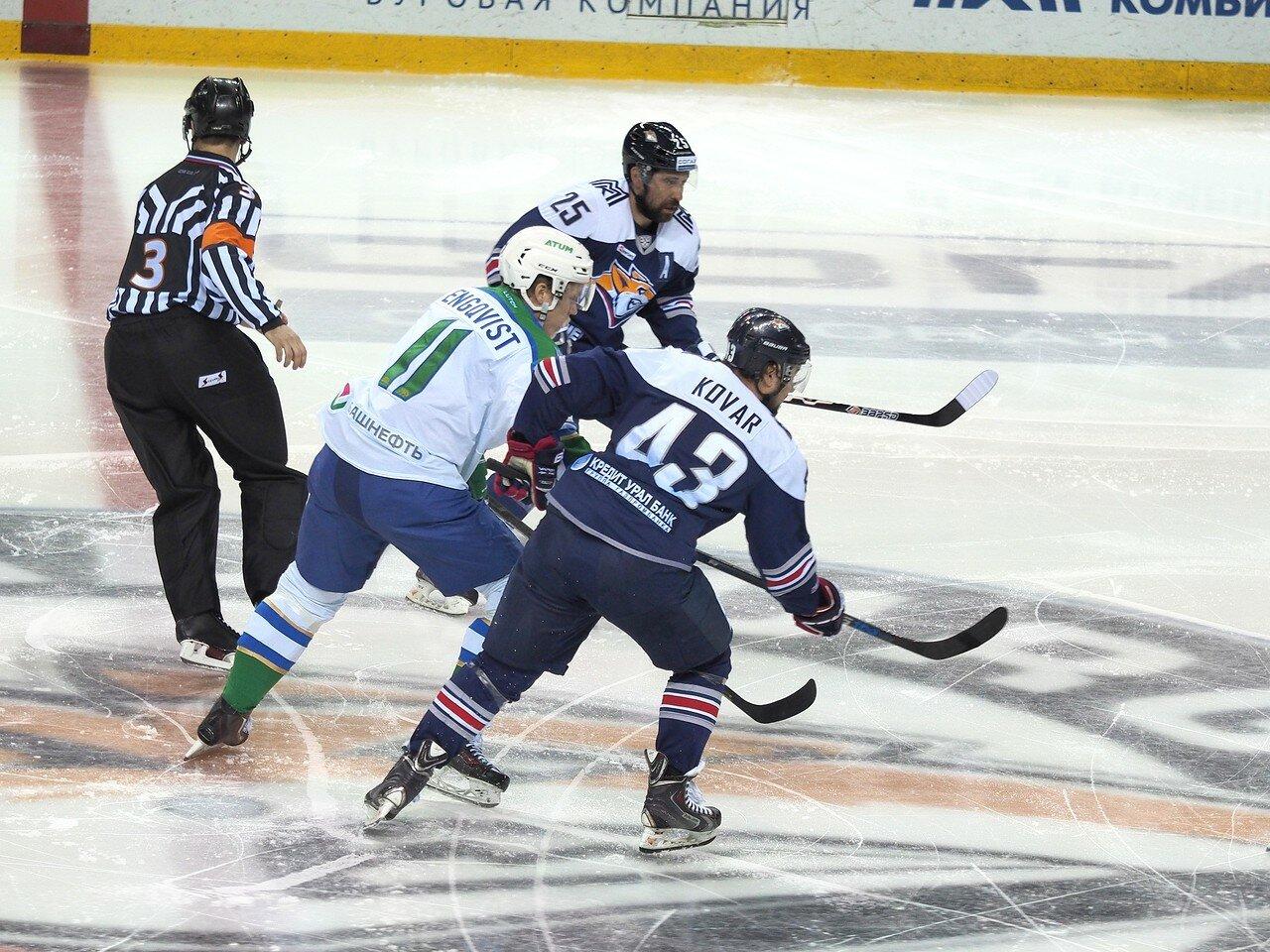63Плей-офф 2016 Восток Финал Металлург - Салават Юлаев 23.03.2016