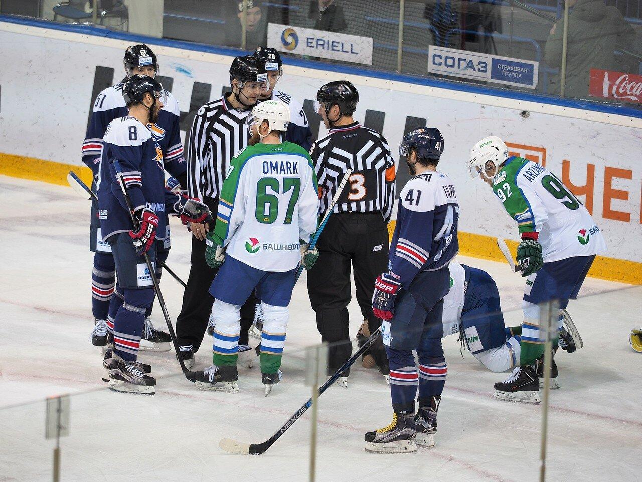 127Плей-офф 2016 Восток Финал Металлург - Салават Юлаев 23.03.2016