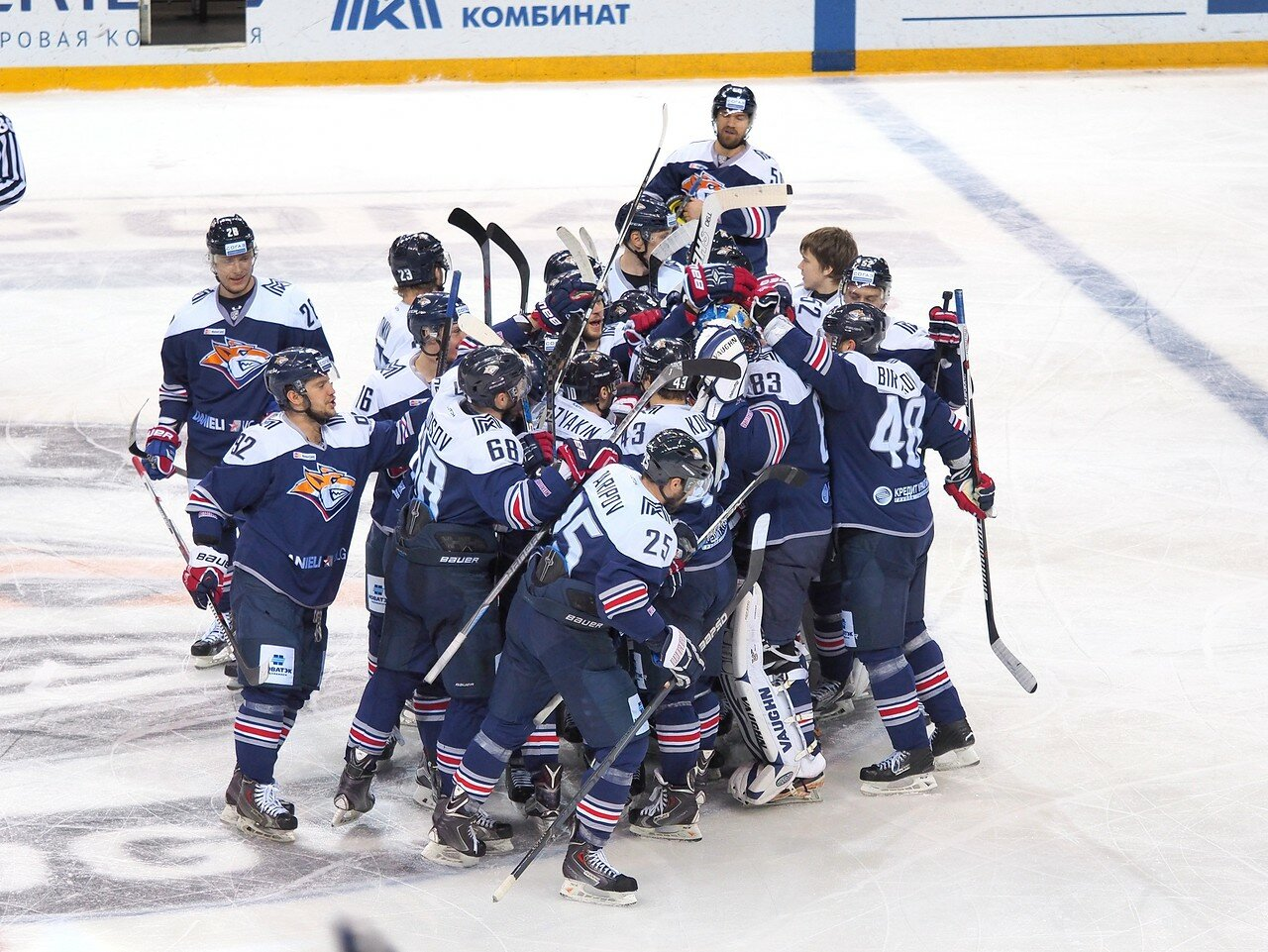 148Плей-офф 2016 Восток Финал Металлург - Салават Юлаев 23.03.2016