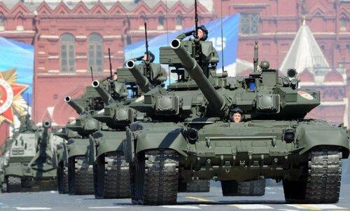 В Москве завершился военный парад на Красной площади