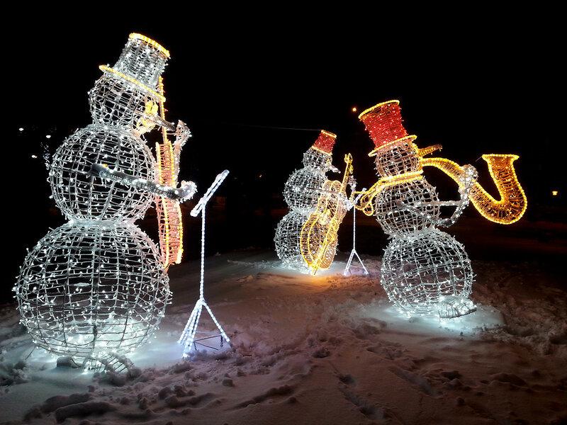 """Джаз-бэнд """"Ночные снеговики"""""""
