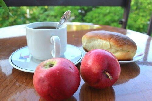 завтрак.яблочный  спас