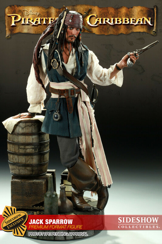 Капитан Джек Воробей.