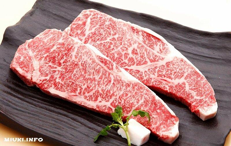Японские коровы Вагью (Wagyu) - cамое дорогое мраморное мясо в мире