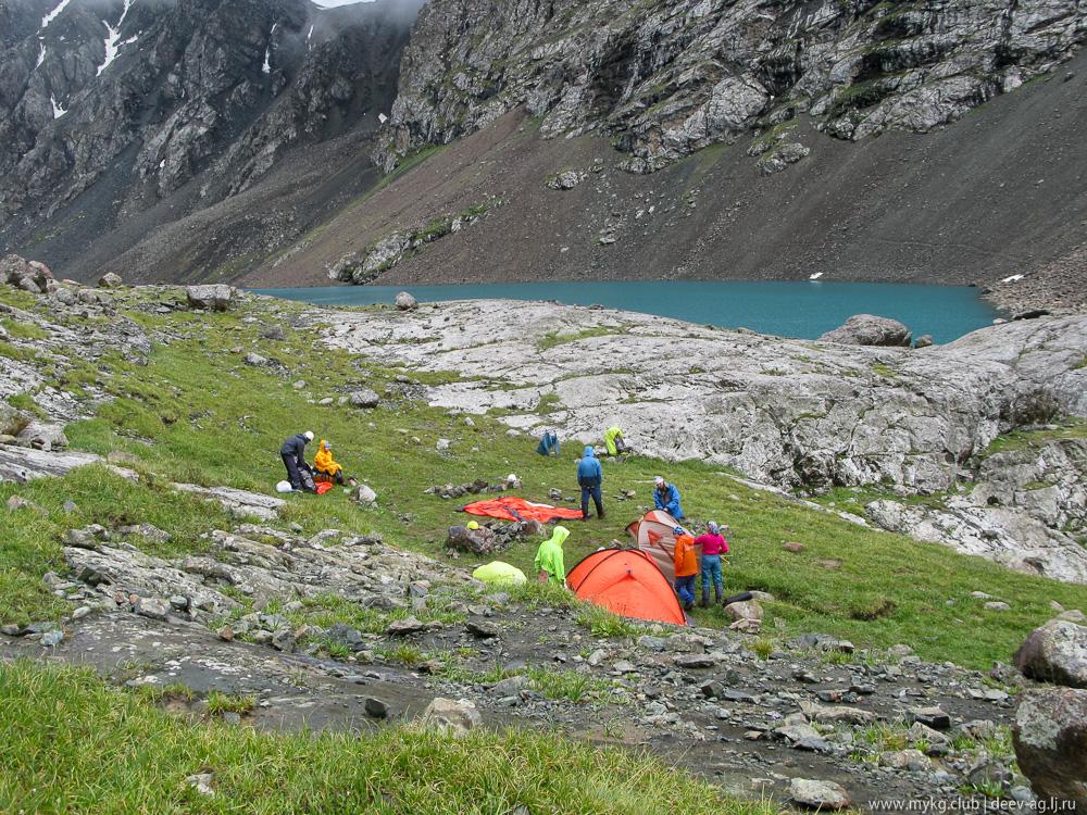 Алакёль, Ала-Куль, палаточный лагерь