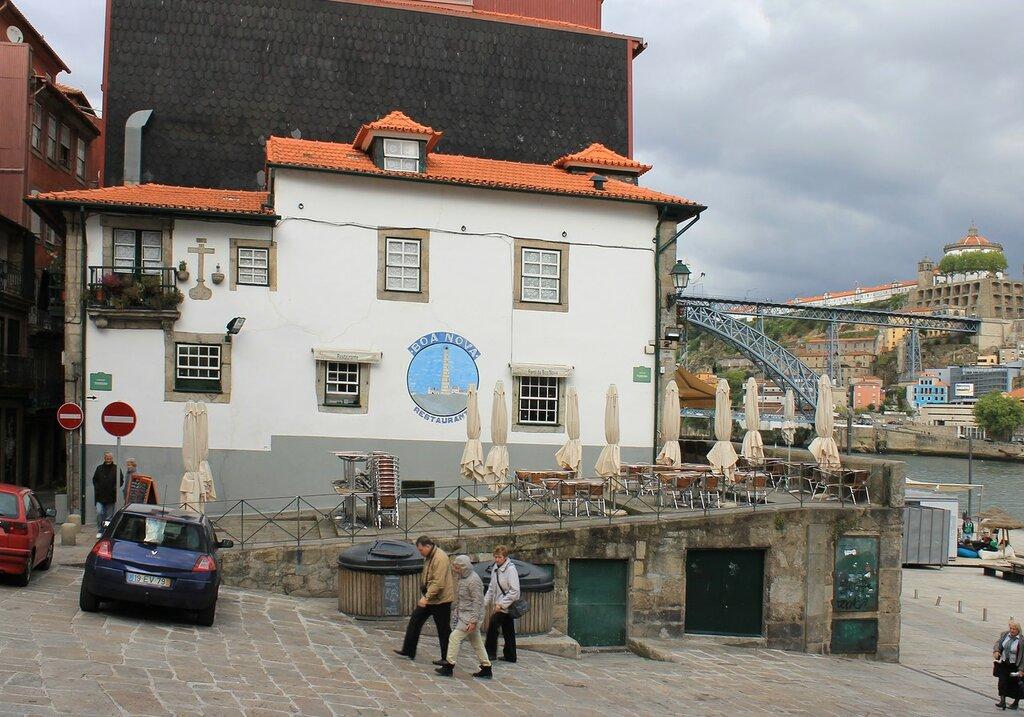 Порту. Район Рибейра (Cais da Ribeira)