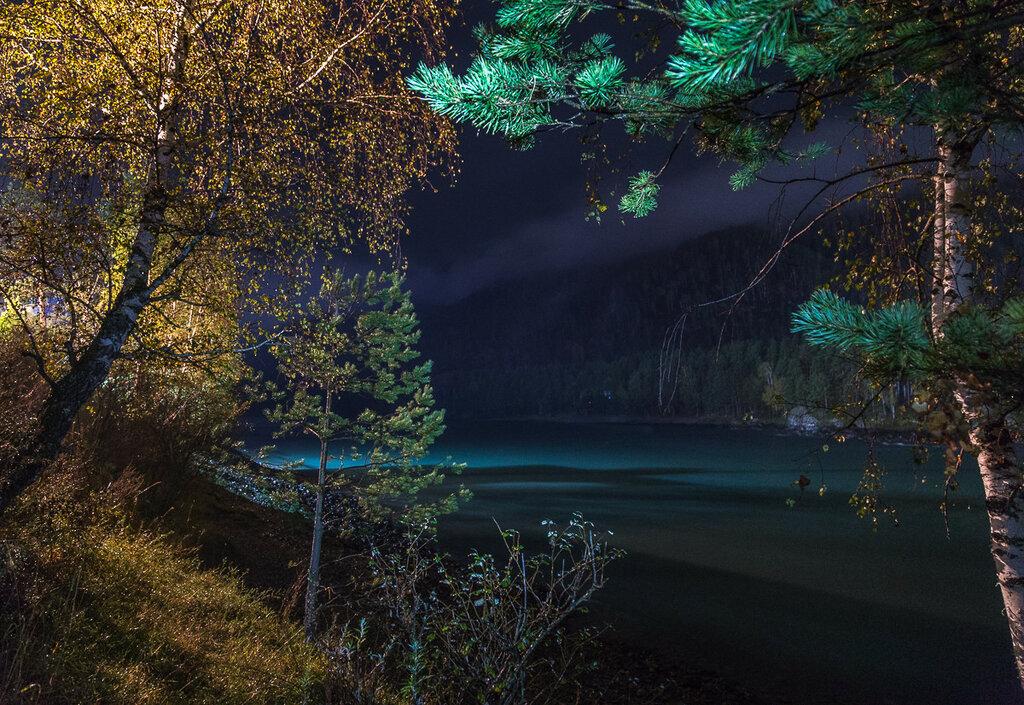Ночь в Узнезе. Катунь в сентябре