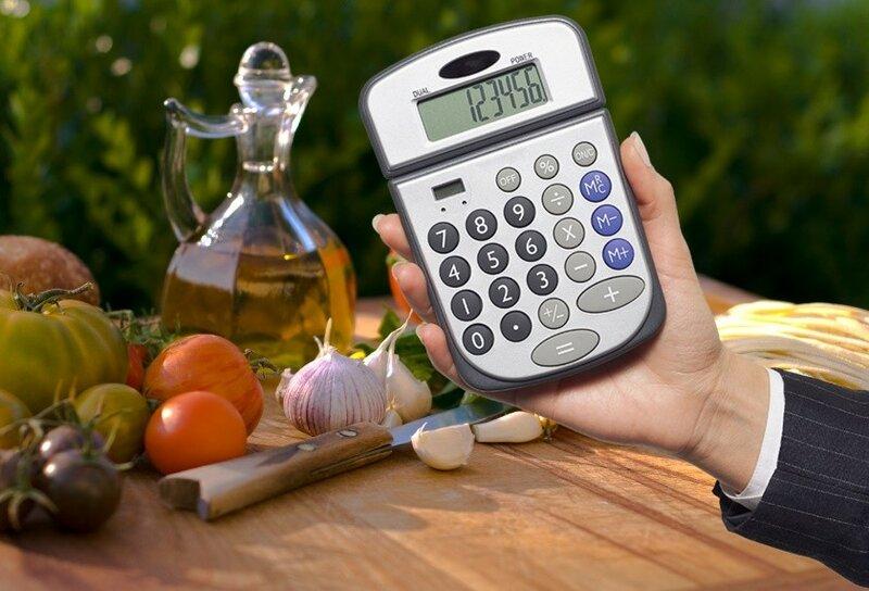Интерактивный калькулятор для кулинарии   как пользоваться
