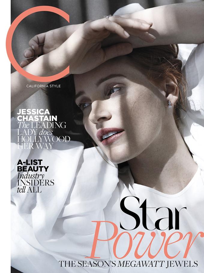 Джессика Честейн в C Magazine