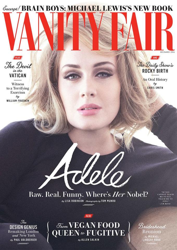 Адель в Vanity Fair